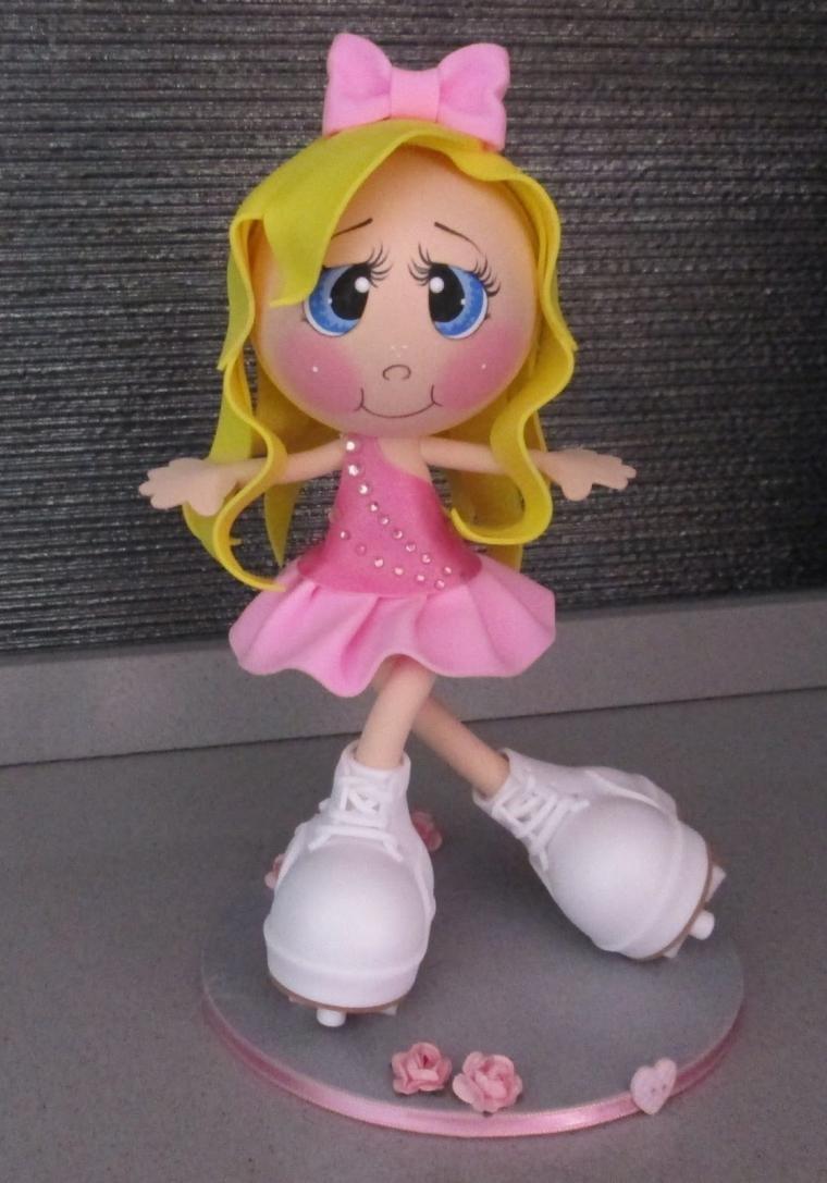 Куклы из фоамирана своими руками выкройки 450