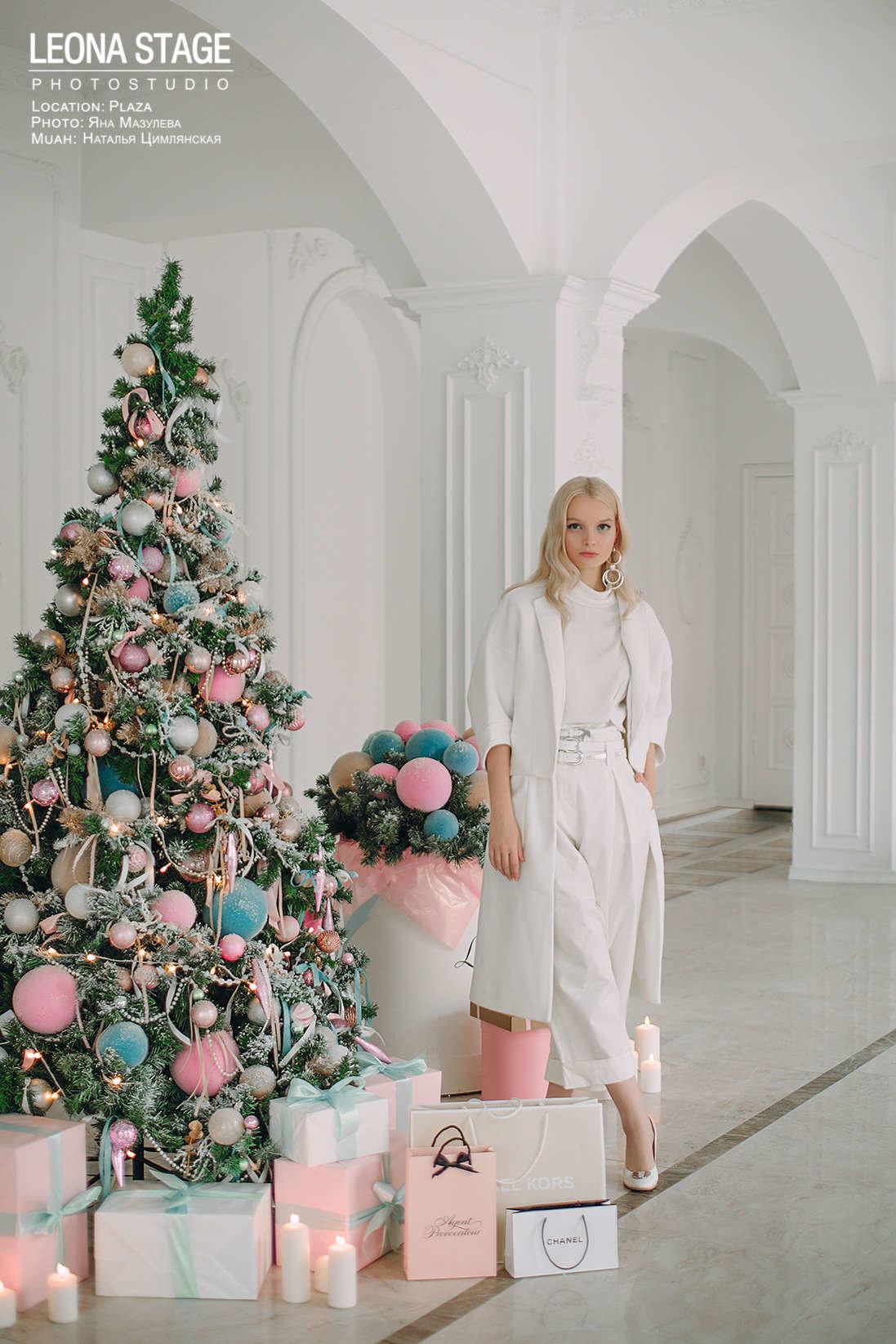 фотосессия с новогодними декорациями в спб краснуха совсем опасна