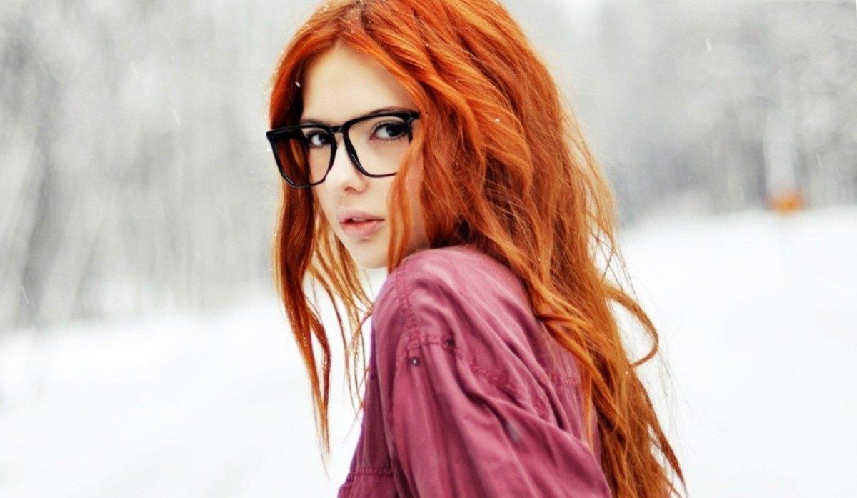 фото картинка девушек рыжих