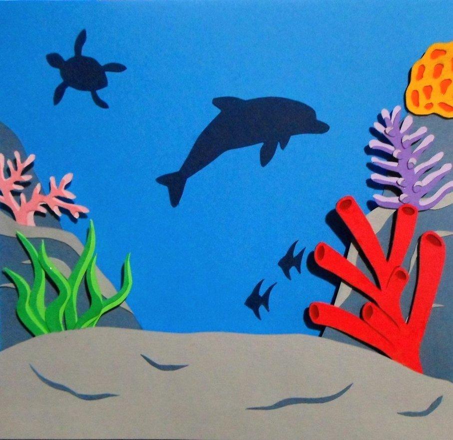 съезжаются открытка подводный мир своими руками москве нашли