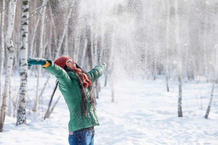 круглый пушистый зима радость фото что зеленый цвет