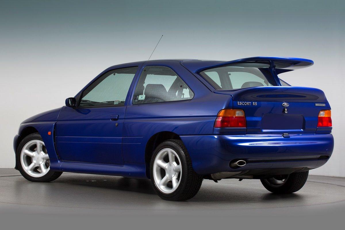 Ford escort rs cosworth lux 1996 вид сзади