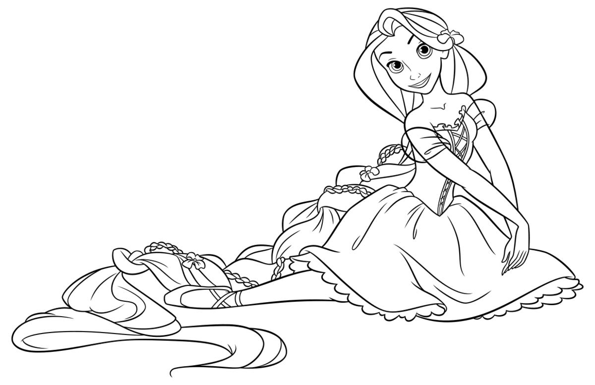 Повестка, картинки принцессы раскраски для девочек 11 лет