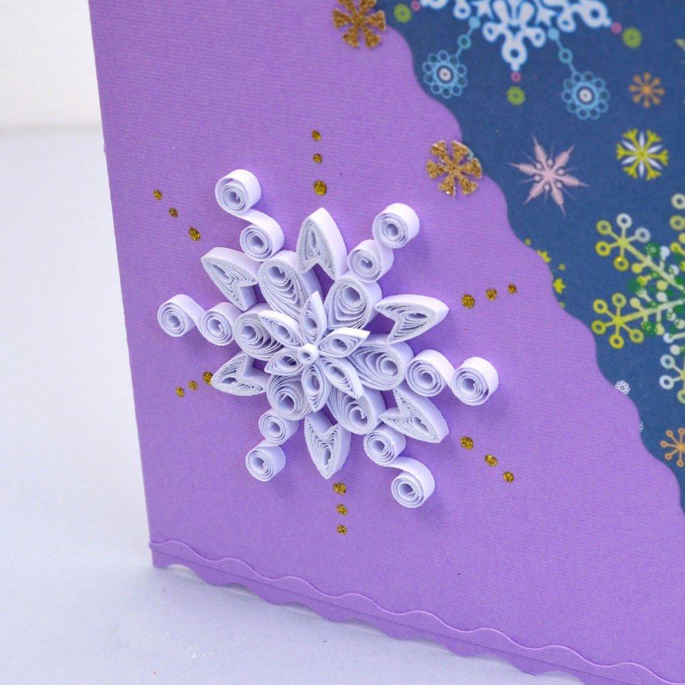 Открытки днем, рождественская открытка квиллинг своими руками