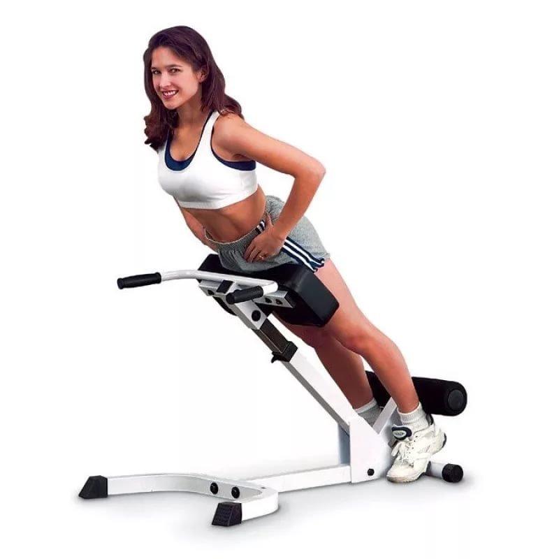 скамья для спины пресса гиперэкстензия картинка фото изображение фотография упражнения на тренажёре красивая фигура спорт форма