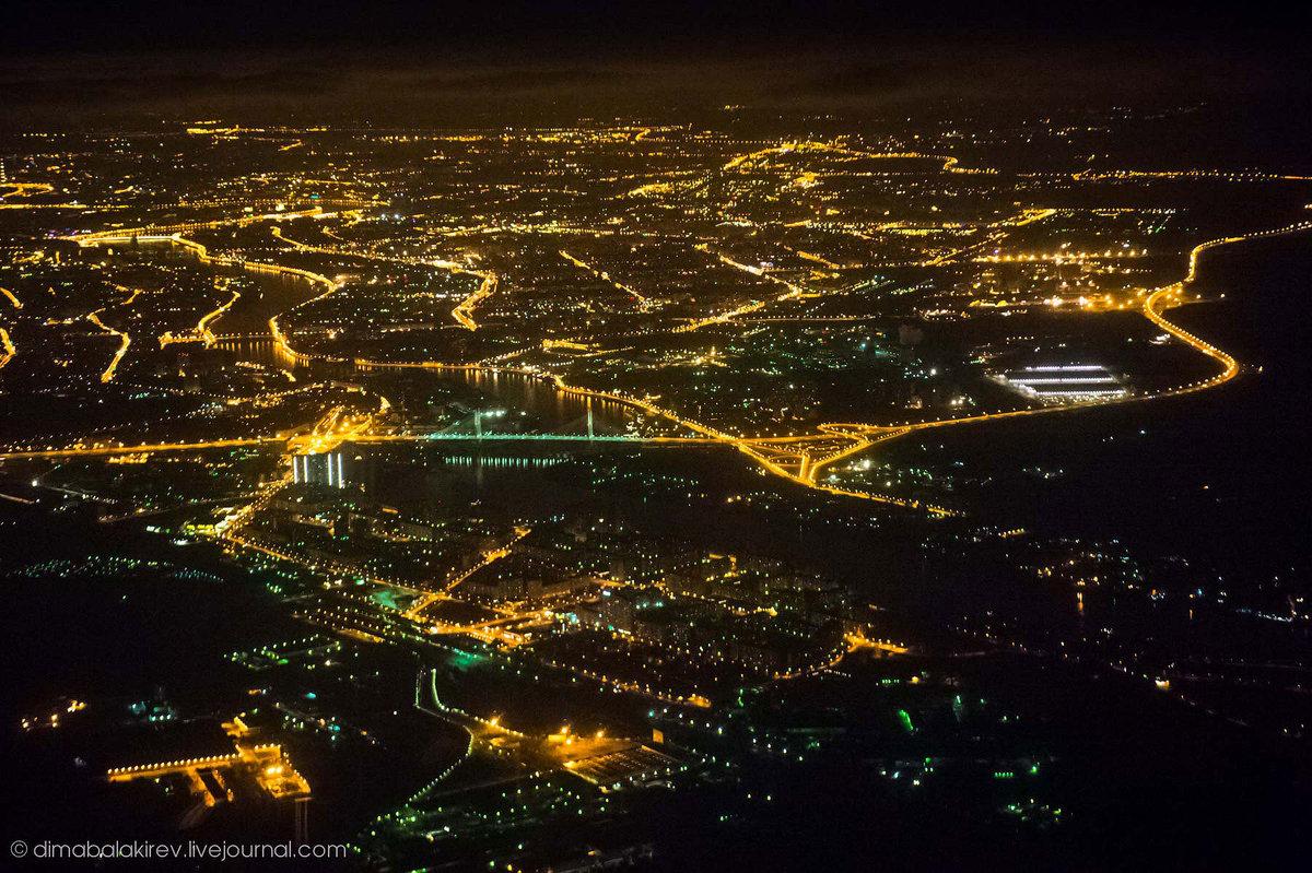 фото с самолета ночной беларусь говорим готике