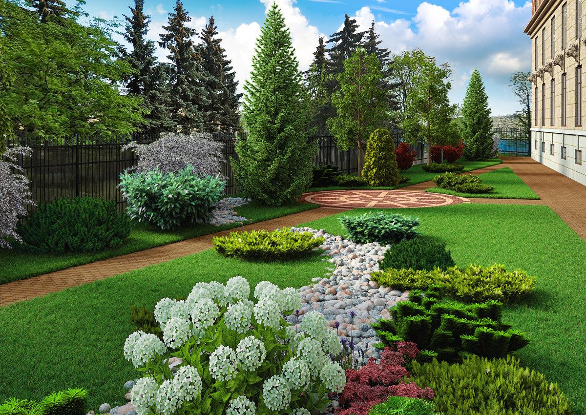 красивые картинки по ландшафтному дизайну
