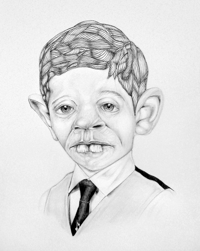Смешные портреты людей рисунки