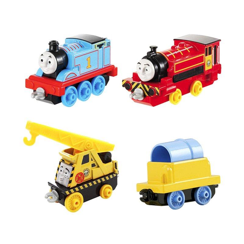 """Игровой набор Thomas & Friends """"Томас, Виктор и Кевин"""" несомненно понравится поклонникам популярного мультсериала «Томас и его друзья»!"""
