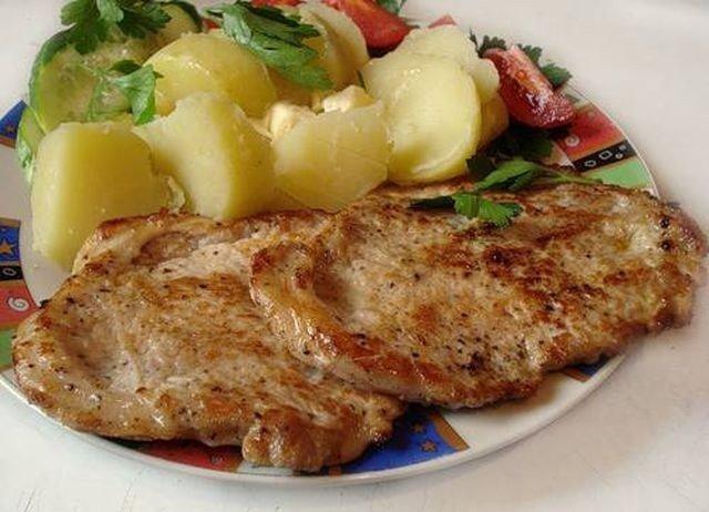 эскалоп из свинины рецепт приготовления-хв6