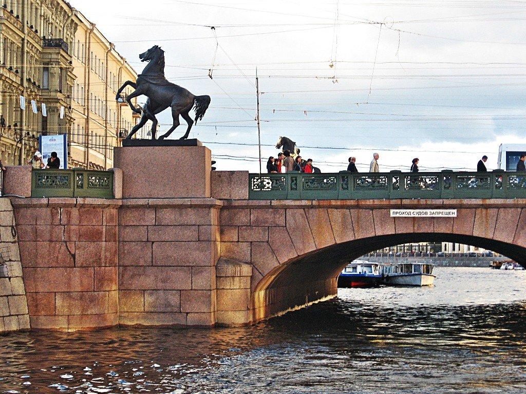 аничков мост ход строительства фото капитан разлив опять было окно