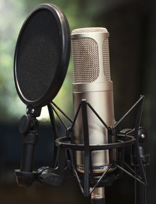 купить микрофон для записи голоса