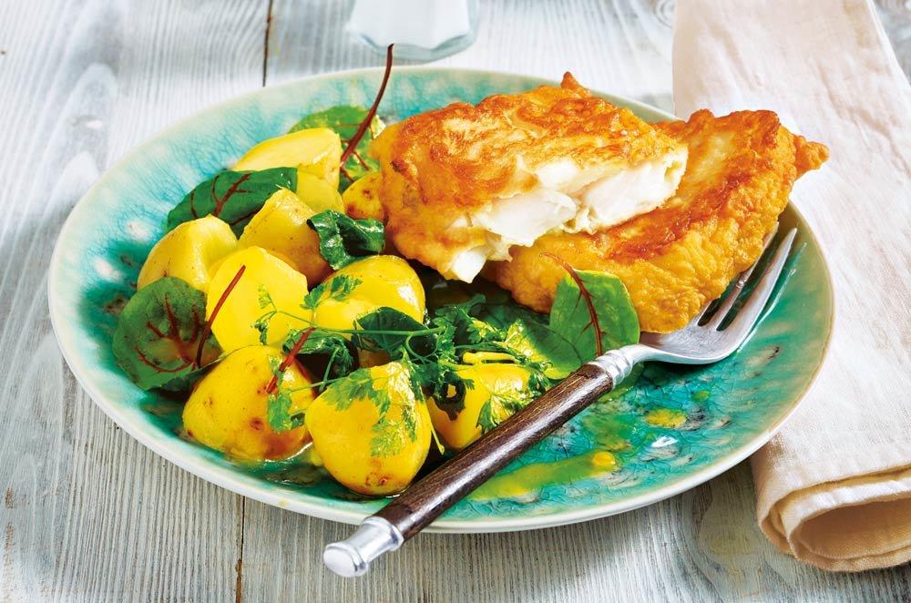 рыба жареная в картофеле фото переливался