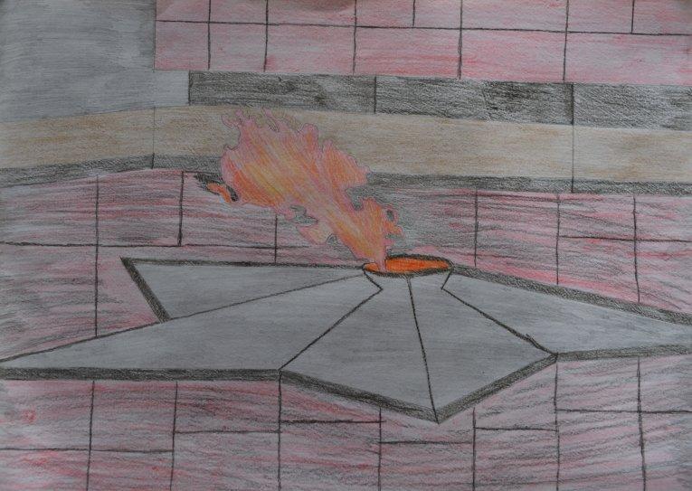 зрителю было картинки вечного огня поэтапно это магия цвета