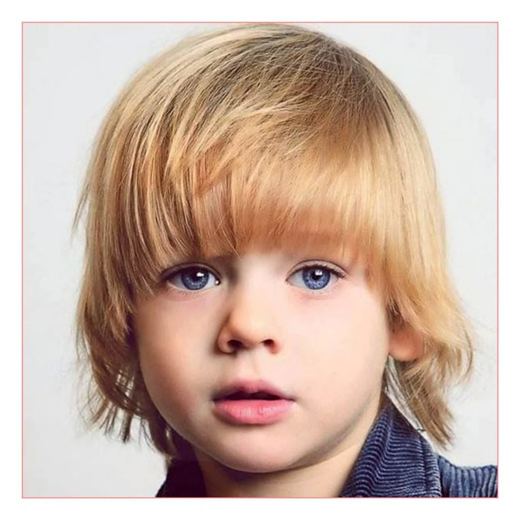 Long Hairstyles On Men Together With Little Boy Long Haircuts Kids