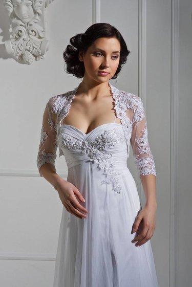 fd43926a84b3735 Купить товар Мода белый длинные вечерние платья 2016 половина рукава ...