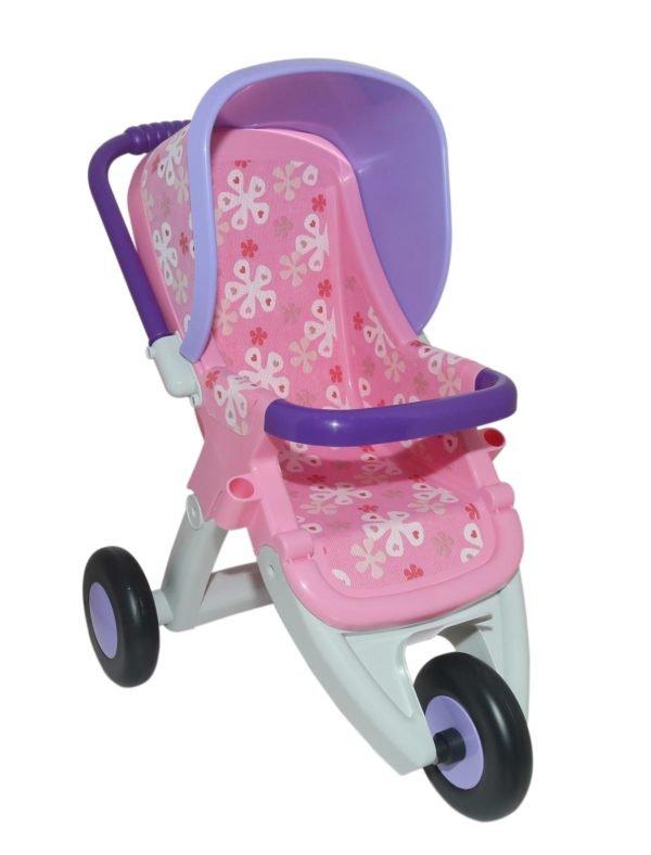 Отличная коляска для кукол, пупсов и мягких друзей ребёнка.