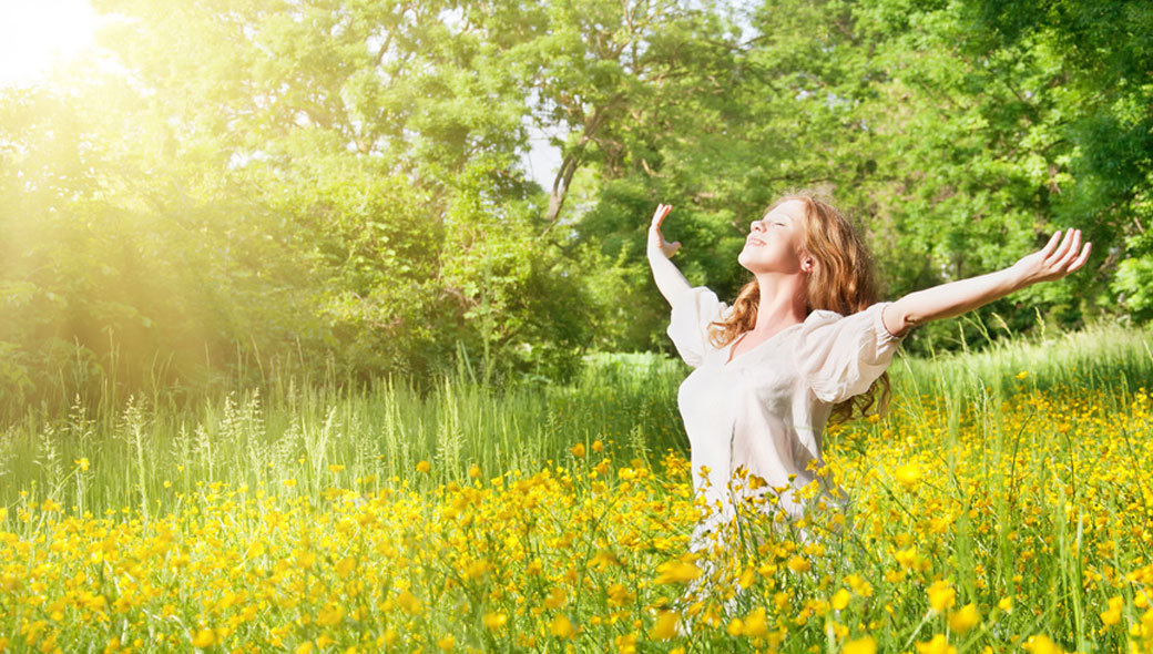 Летняя картинка с добрым утром счастья радости