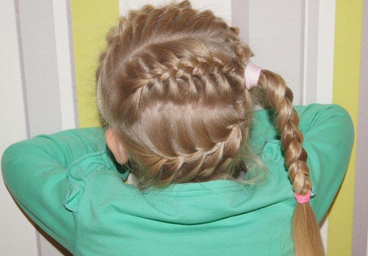 Прически для девочек.плетение кос 6