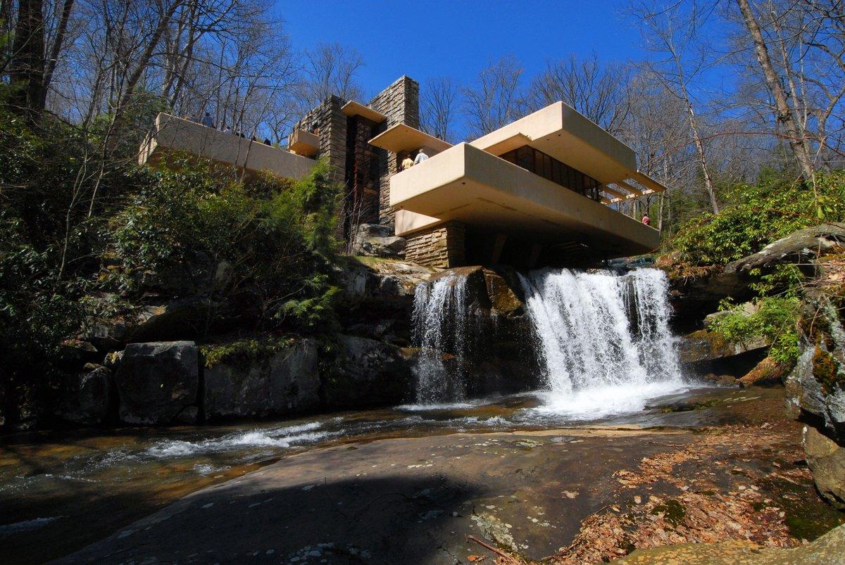 когда-нибудь задумывался дом над водопадом фрэнка ллойда райта фото великий