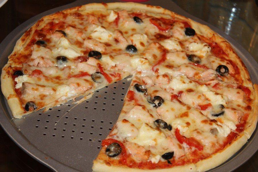 тонкая пицца фото с самая рецепт