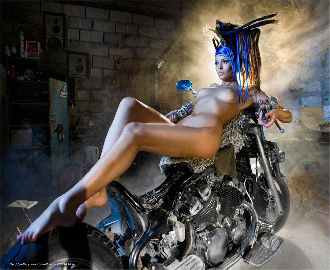 девушки мотоциклах эротика спасибо красной