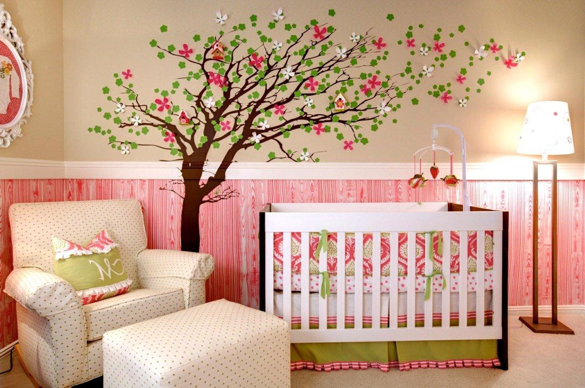 Картинки на стену в детскую комнату своими руками, месяцев картинки