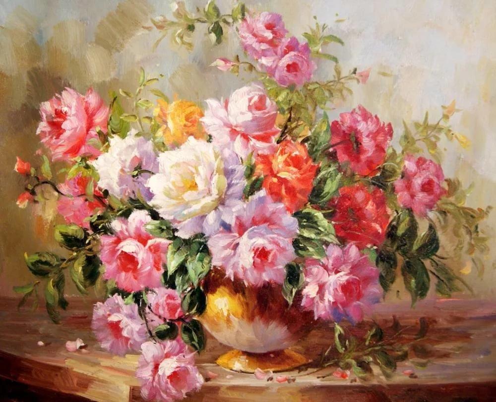 Цветы в живописи картинки, открытки зарубина четверикова