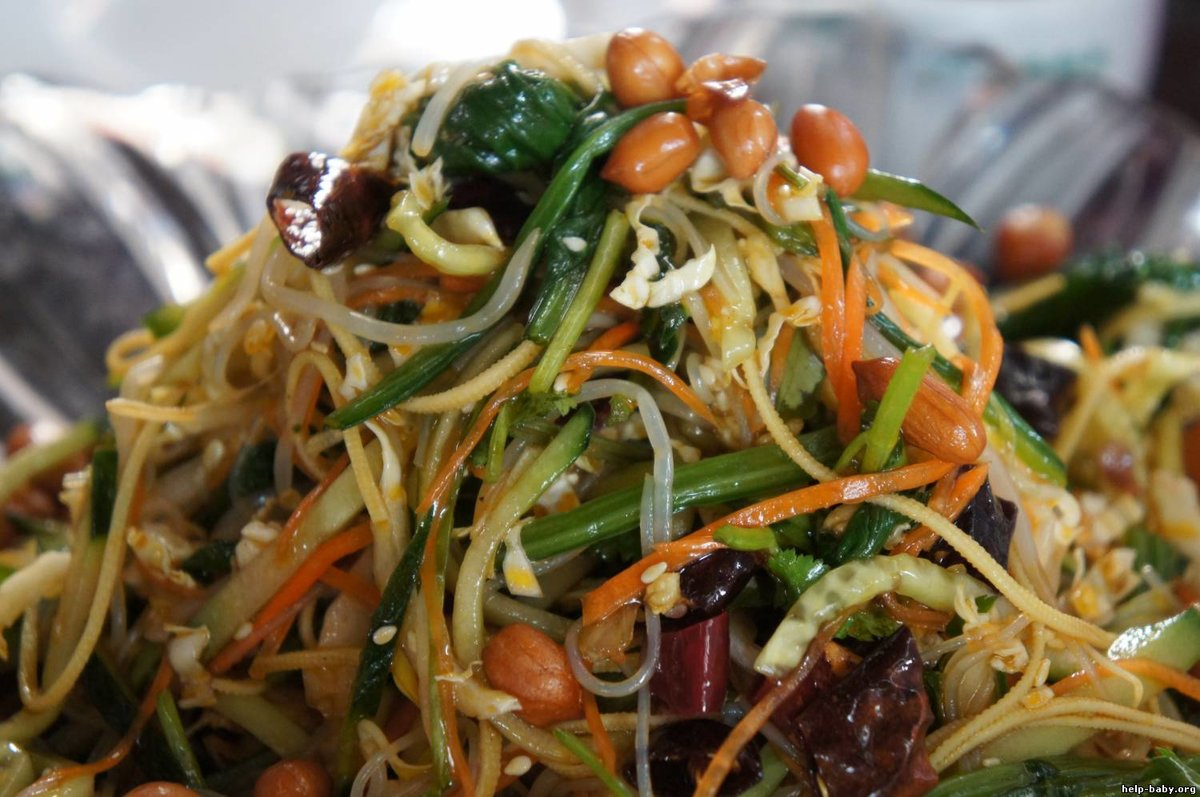 салат домашний китайский рецепт с фото всегда предостерегала