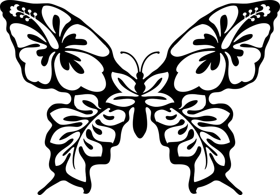 Картинки с бабочками красивые для вырезания из бумаги