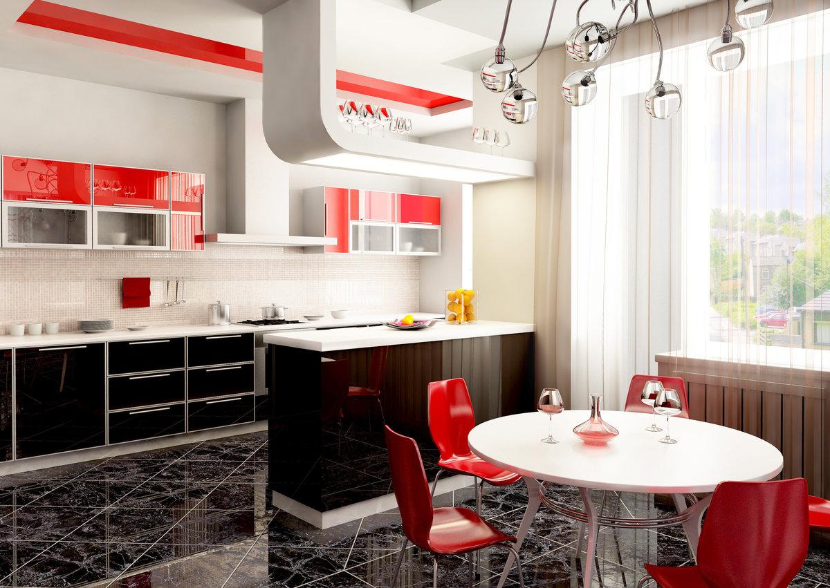 Открытку как, кухни в картинках дизайн и интерьер фото