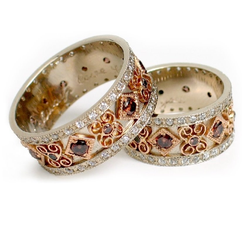 винтажные обручальные кольца фото