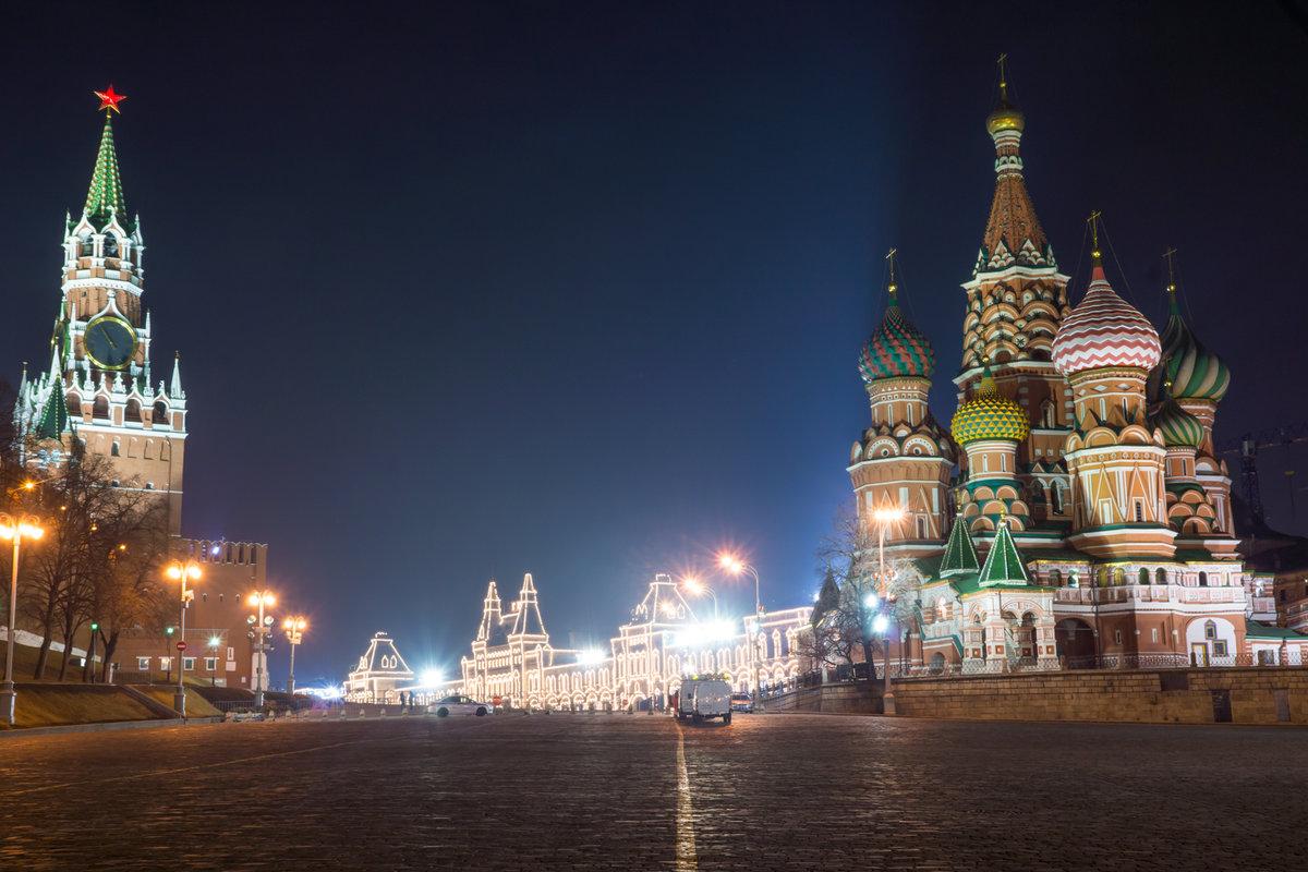 Москва в картинках или фотографиях очень