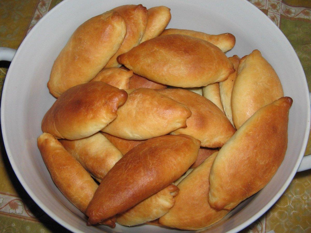 Рецепт пирожков с картинками
