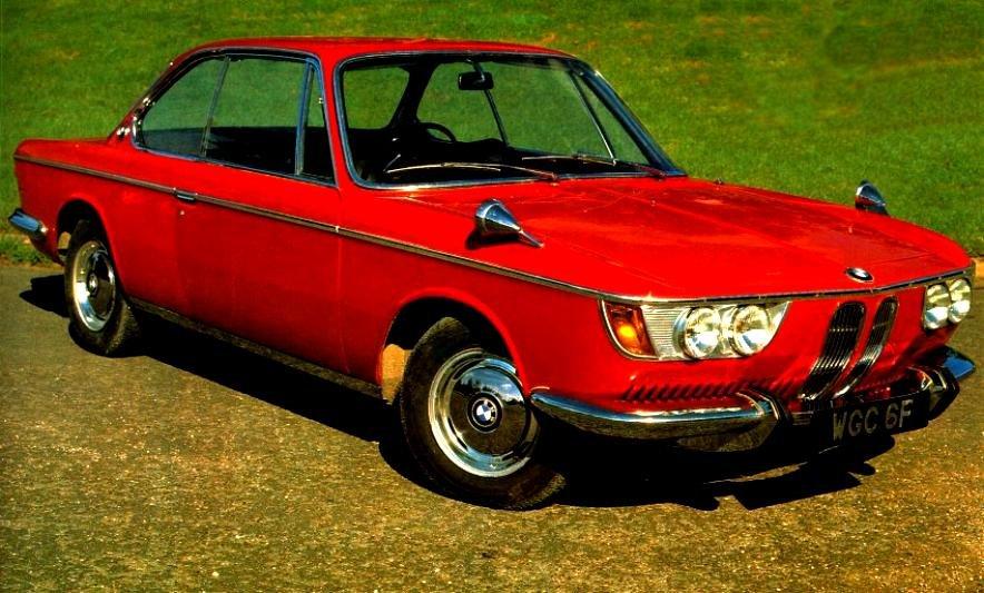 BMW 2000 CS 1965 on MotoImg.com\