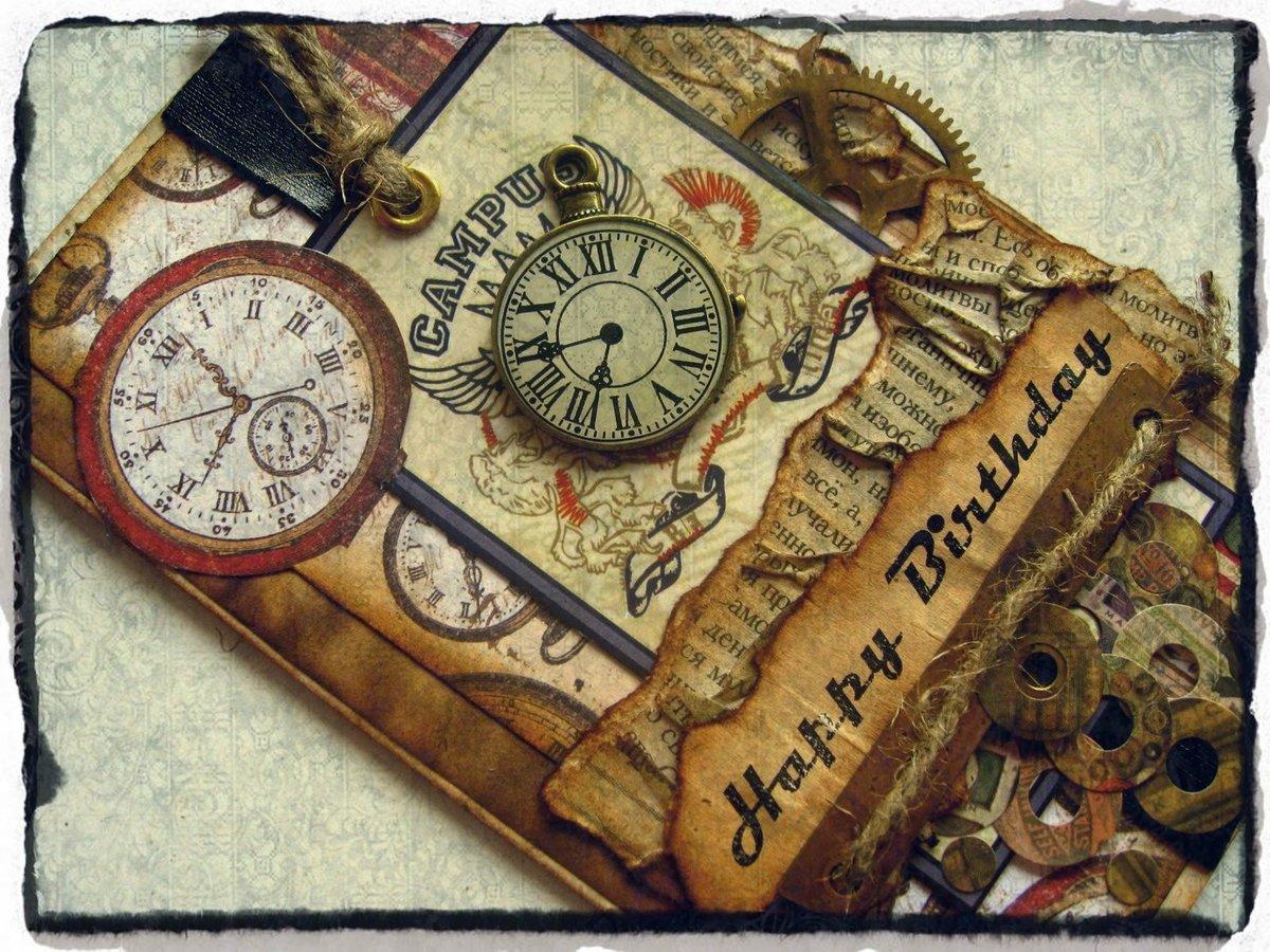 Свинья, открытки часы