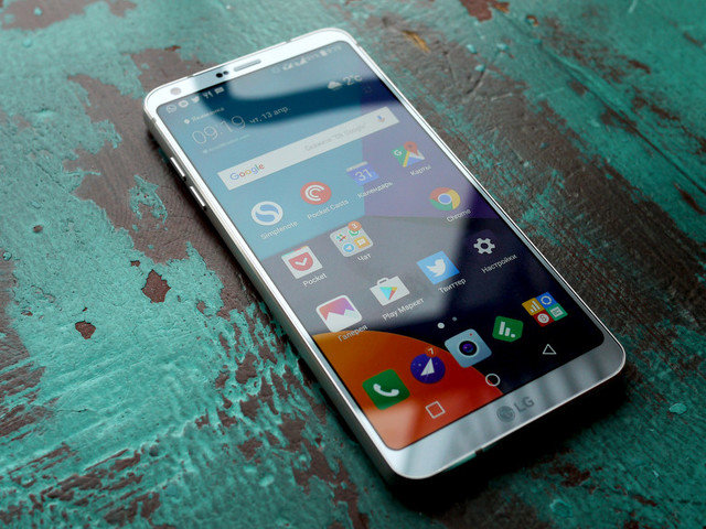 Обзор: смартфон LG G6