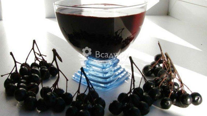 Настойка из черноплодной рябины в домашних условиях простой