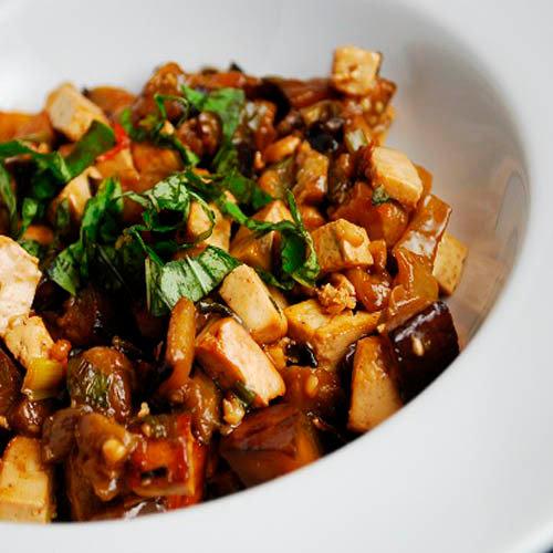 Баклажаны по-хунаньски. Китайская кухня.