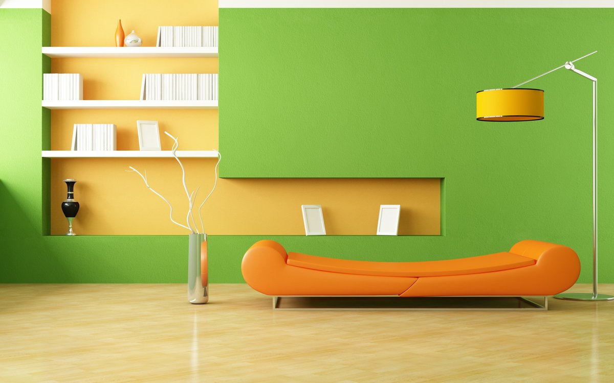 marvellous minimalist light green living room interior decoration ...