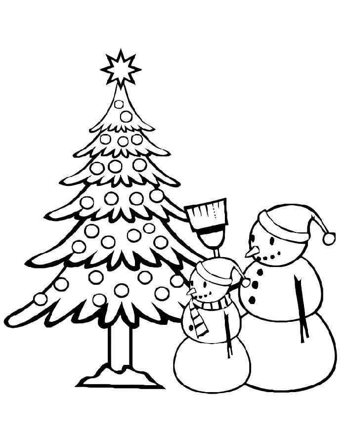 Простые картинки новый год для детей