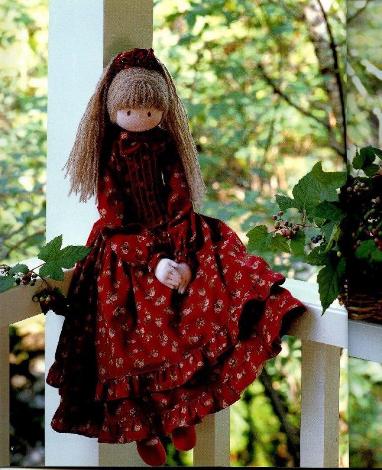 Открытках, куклы сшитые картинки