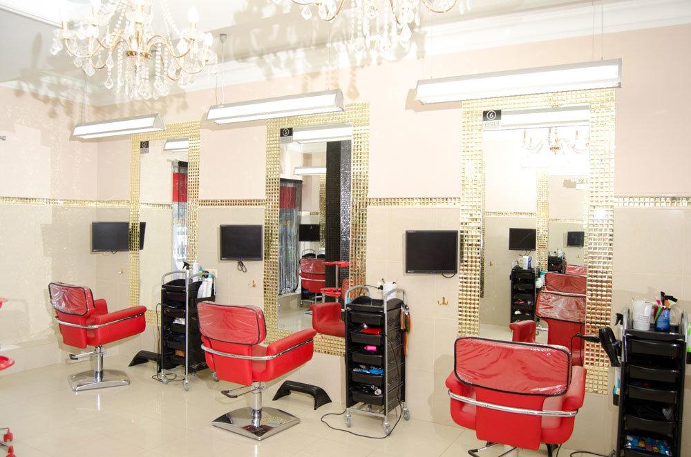 Дизайн парикмахерской эконом класса фото