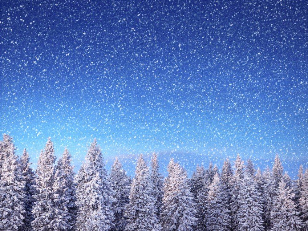 Для, падает снег картинки фото