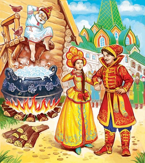 Красивые картинки русских народных сказок