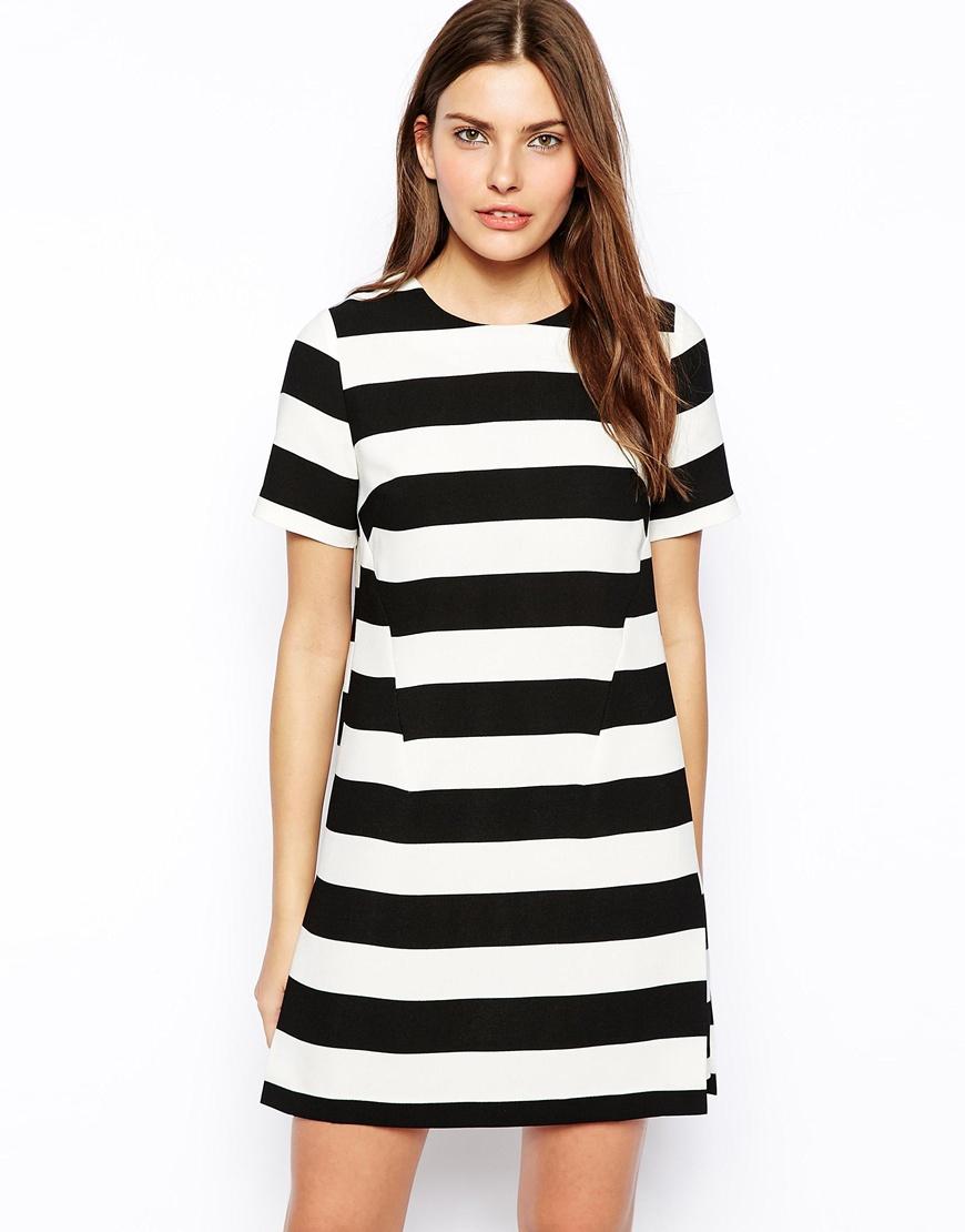 77467989ac7 «Короткое платье в горизонтальную полоску» — карточка пользователя  Yhoncharenko10 в Яндекс.Коллекциях