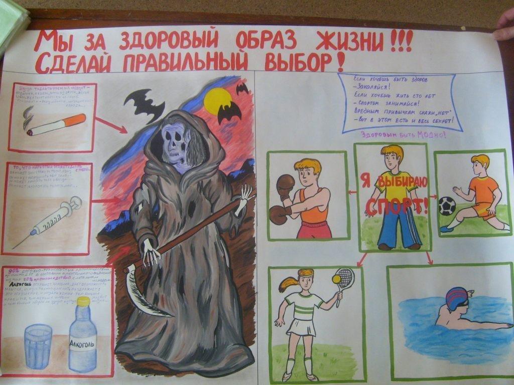 плакат на тему стиль жизни здоровье арконы