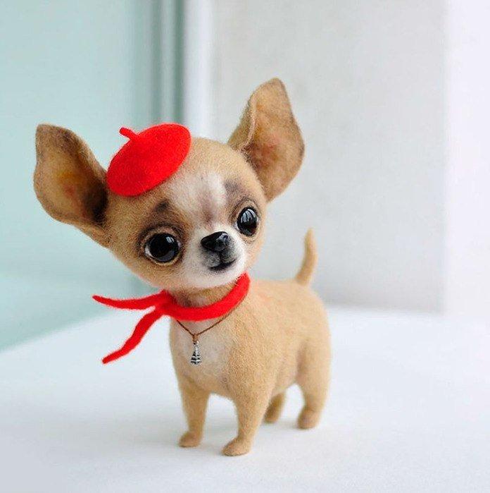 Интерьерная собачка