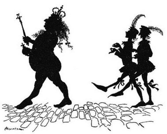 Голый король. Иллюстрация к сказке Ганса Христиана Андерсена ...