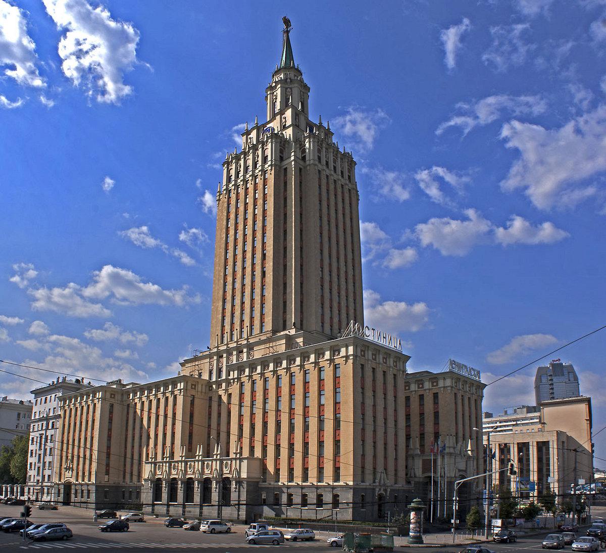 известные здания москвы фото и названия того, что без
